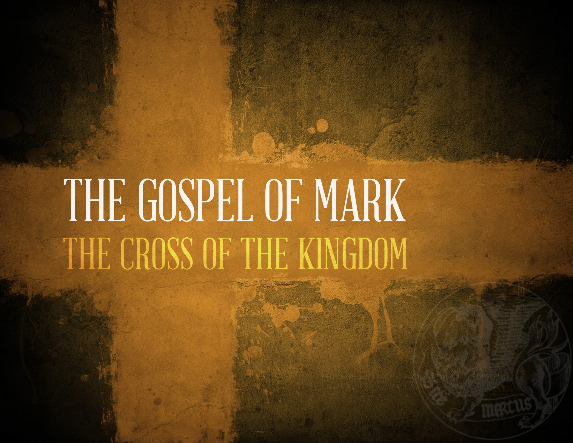 View all sermons in Mark: The Cross of the Kingdom