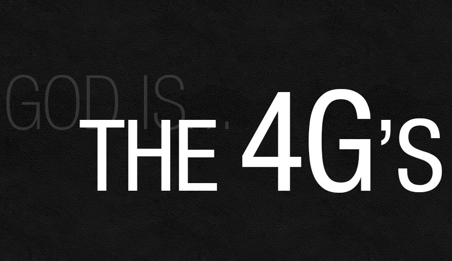 View all sermons in The Four G's