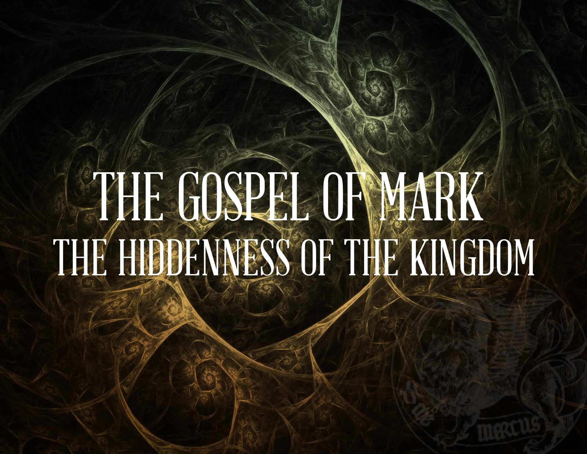 View all sermons in Mark: The Hiddenness of the Kingdom
