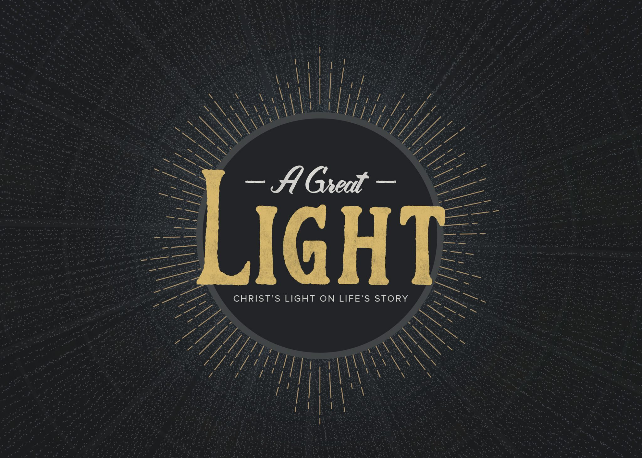 View all sermons in A Great Light